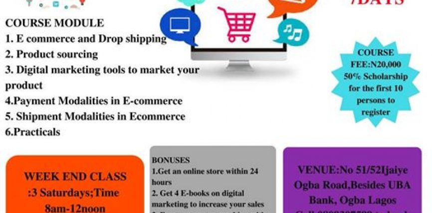 Start Your e-Commerce Business in Less Than 7days