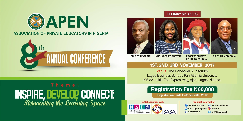 Attend APEN 8th Annual Conference 2017